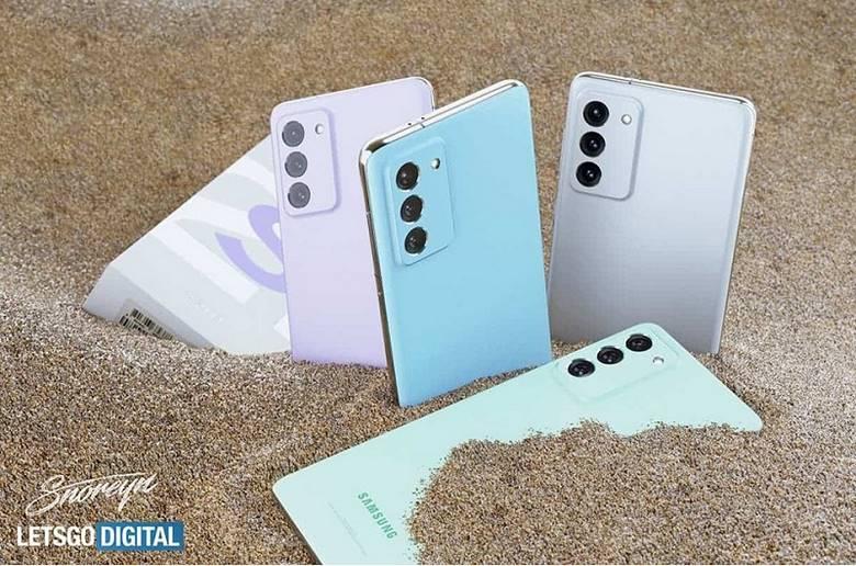 thiết kế Samsung Galaxy S21 FE
