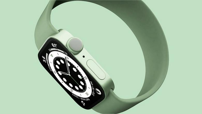 Apple Watch Series 7 màu xanh
