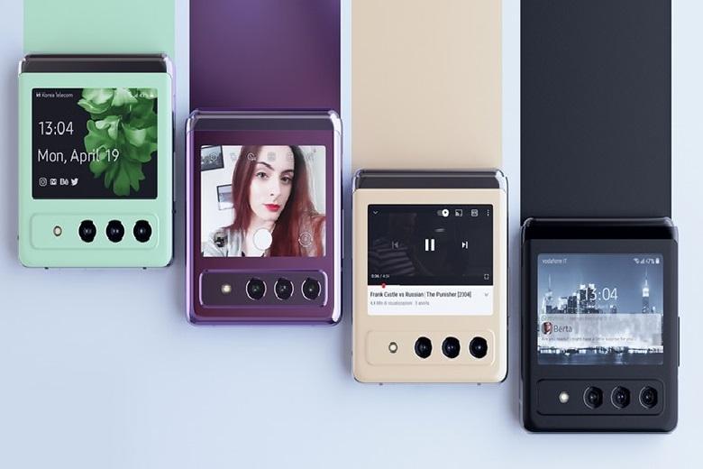 màu sắc Galaxy Z Flip 3