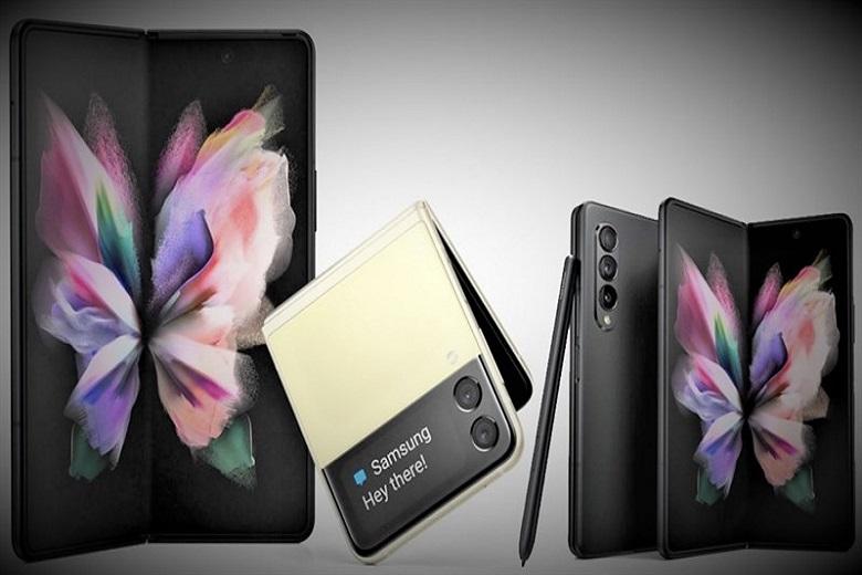 Hình ảnh thực tế Samsung Galaxy Z Fold 3 và Z Flip 3