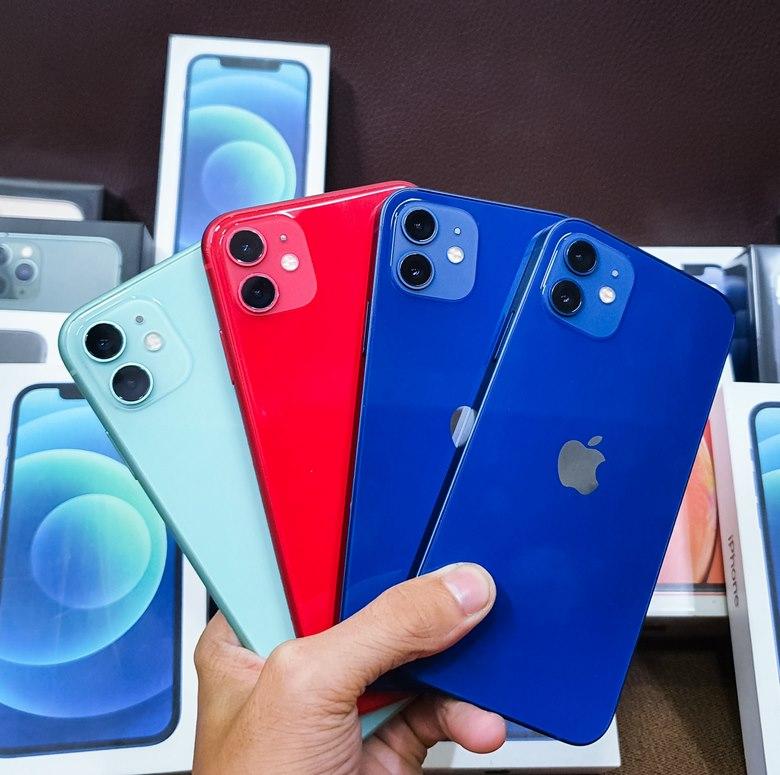 số lượng iPhone 12