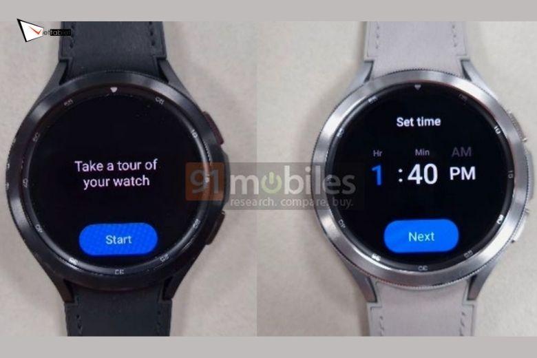 hình ảnh thực tế Samsung Galaxy Watch 4 Active lộ diện