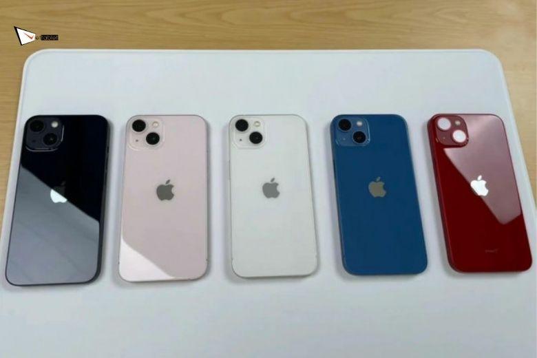 Hình ảnh thực tế iPhone 13 và iPhone 13 Mini