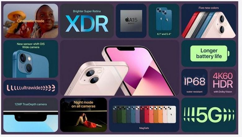 cấu hình iPhone 13 mini