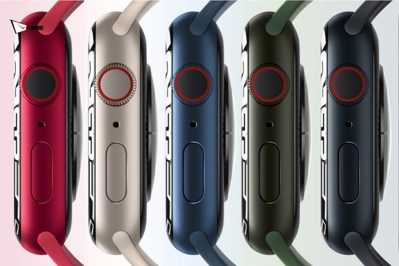 màu sắc Apple Watch Series 7