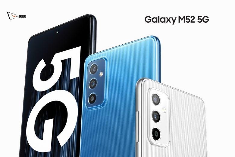 Màu sắc Samsung Galaxy M52 5G