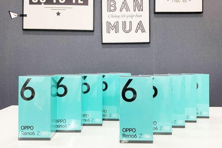 Thiết kế Oppo Reno6 Z