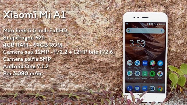 cấu hình Xiaomi Mi A1