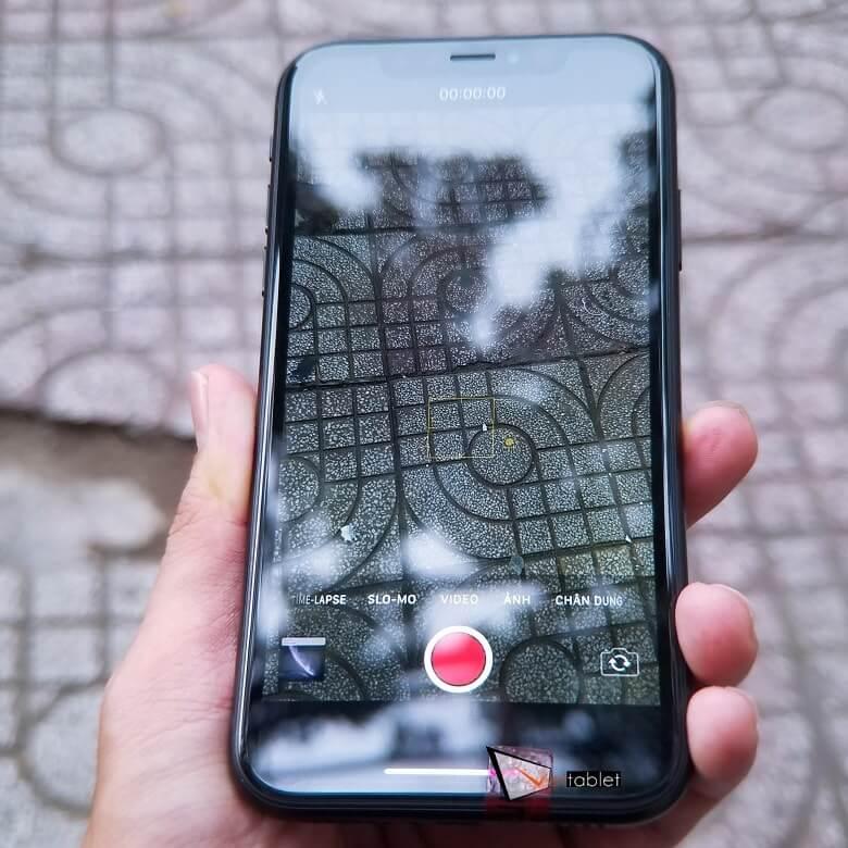 chụp ảnh thử trên iPhone XR like new