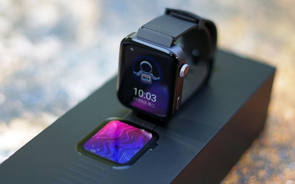 mở hộp Xiaomi Mi Watch