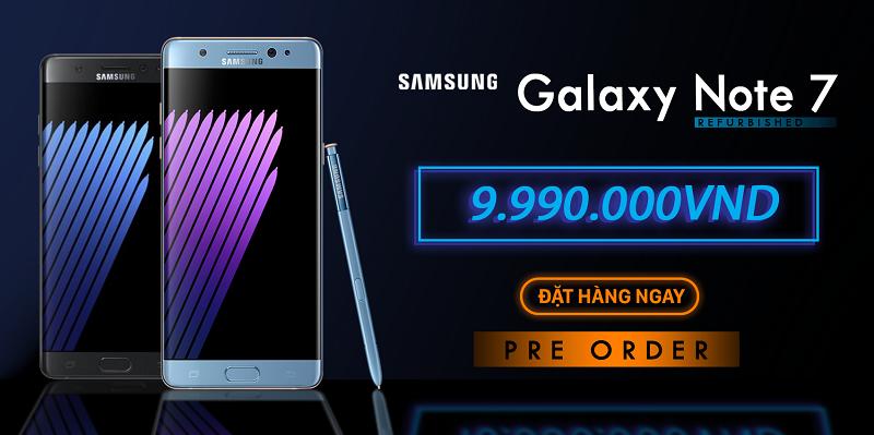 Samsung Galaxy Note 7 FE tân trang