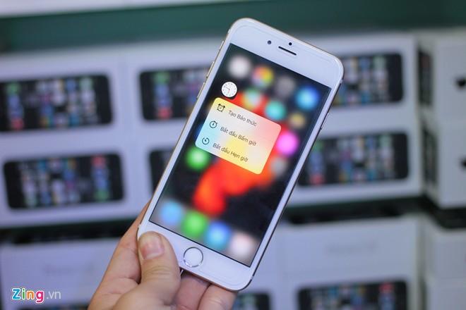 iPhone 6S dùng ruột 5S có 3D Touch ở Sài Gòn