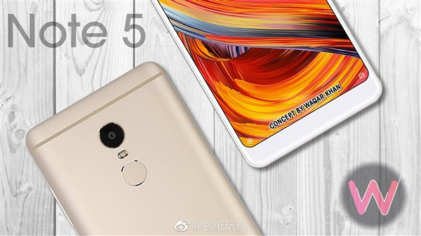 Thiết kế Xiaomi Redmi Note 5
