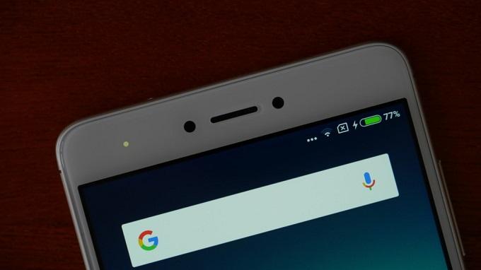 Hiển thị phần trăm pin Xiaomi Redmi Note 4X