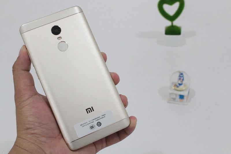 Cảm biến vân tay của Redmi Note 4X