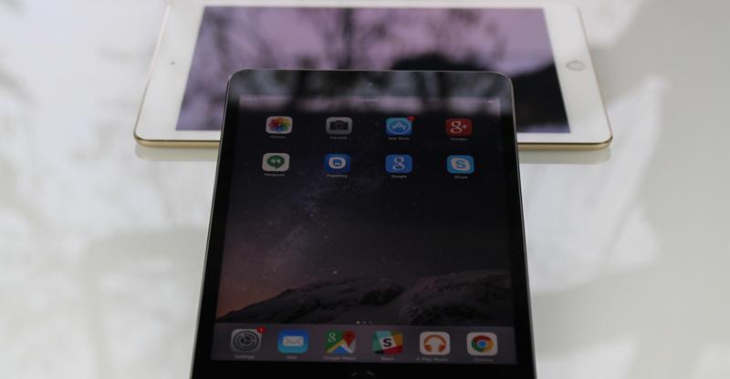 Cấu hình iPad Mini 3 hay iPad Air 2