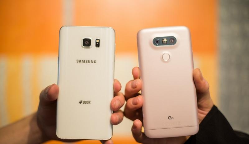 Samsung Galaxy Note 5 vs LG G5