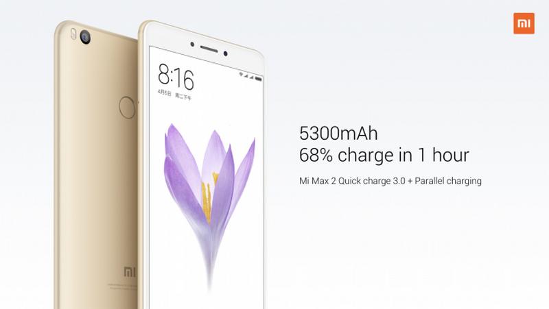 Xiaomi Mi Max 2 thiết kế