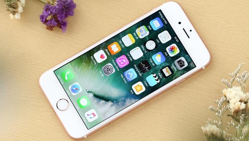 Màn hình iPhone 6S vàng hồng
