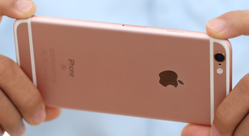 camera iPhone 6S Rose Gold