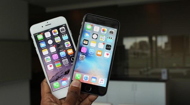 So sánh, phân biệt iPhone 6 và 6s 5