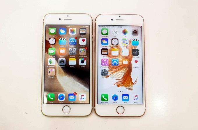 Nên mua iPhone 6 hay 6S