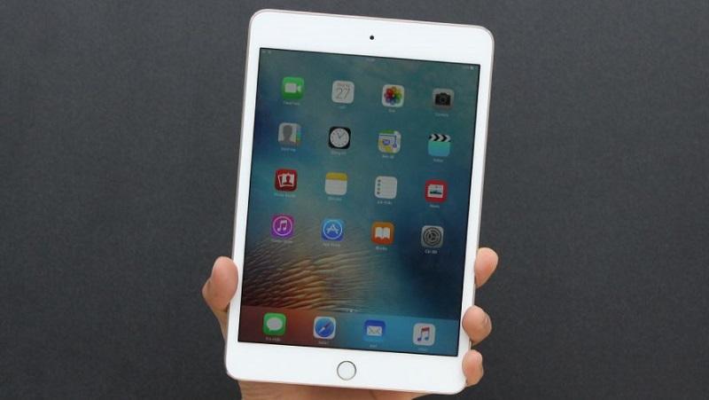 trên tay iPad Mini 4
