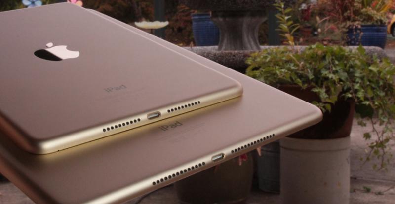 thiết kế iPad Mini 4 và iPad Air 2