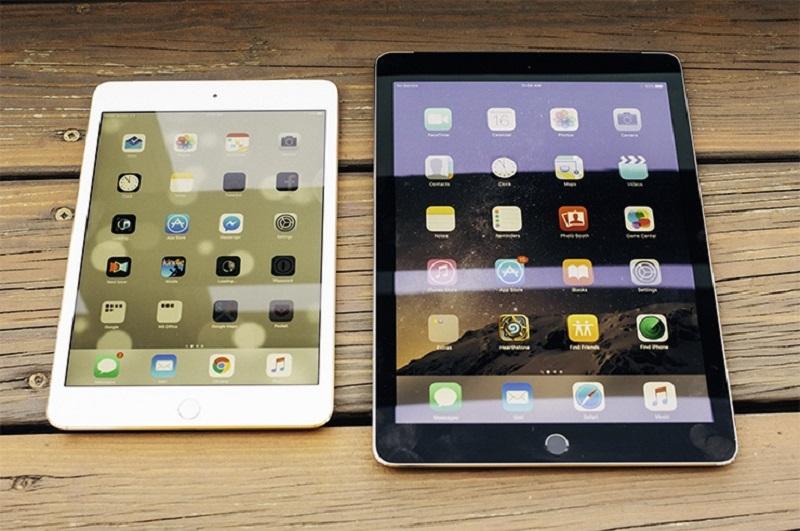 Cấu hình iPad Mini 4 và iPad Air 2