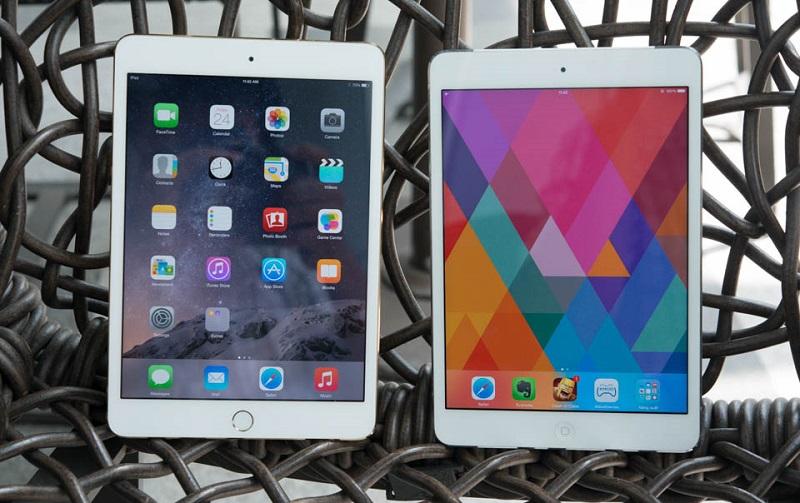 Màn hình iPad Mini 2 và iPad Mini 3