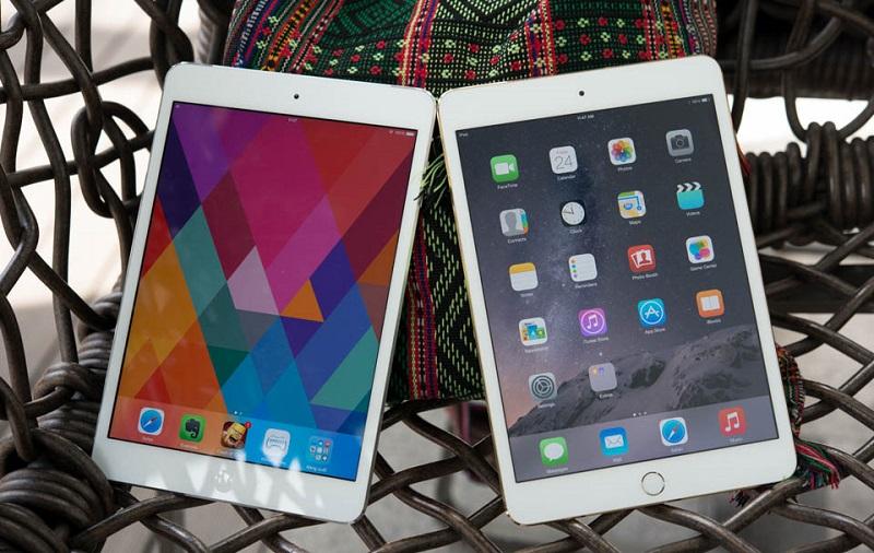 Cấu hình iPad Mini 2 và 3