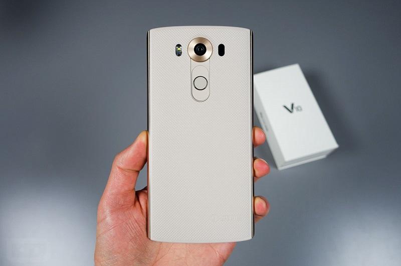 Mặt lưng LG V10