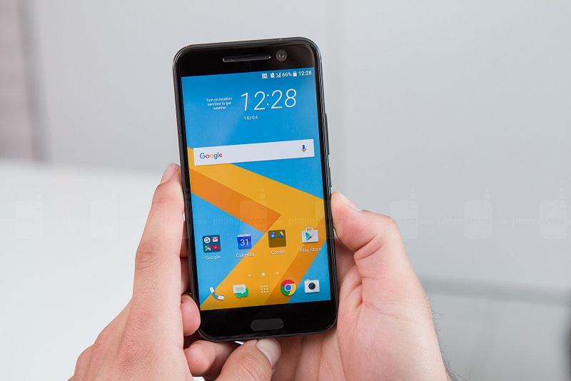 Cảm biến vân tay của HTC 10