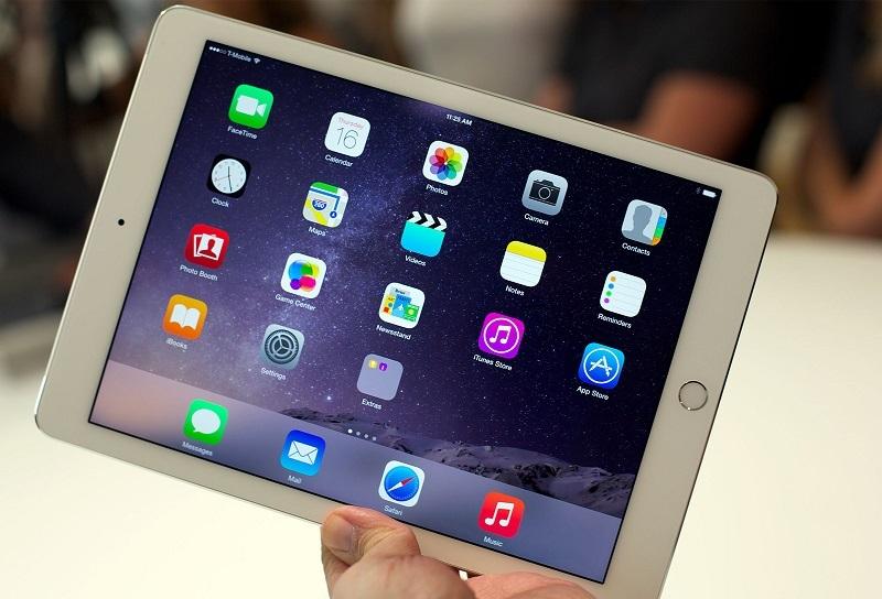 iPad Air 2 có màn hình sắc nét