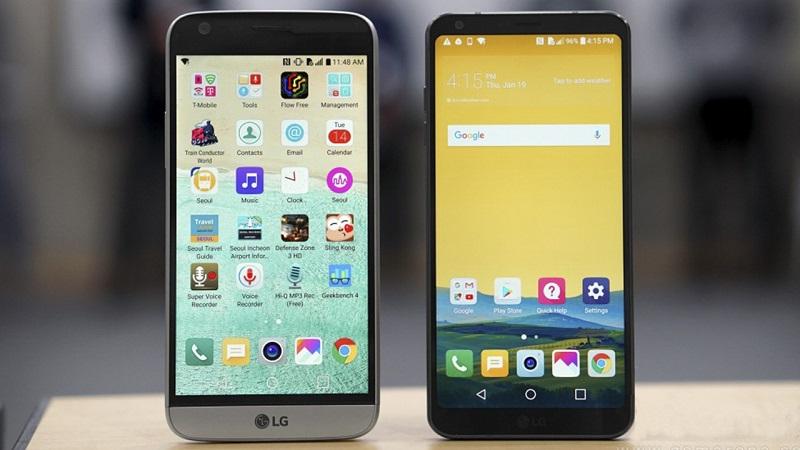 So sánh LG G6 với LG G5: Màn hình