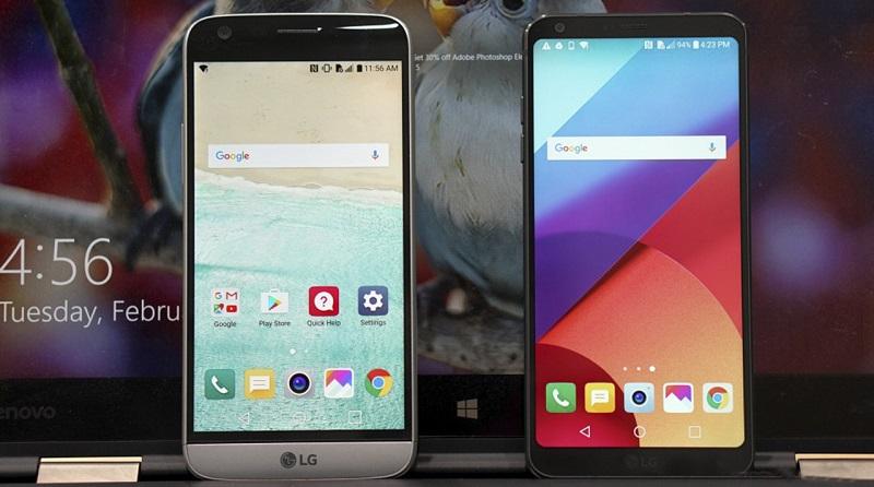 So sánh LG G6 với LG G5: Cấu hình