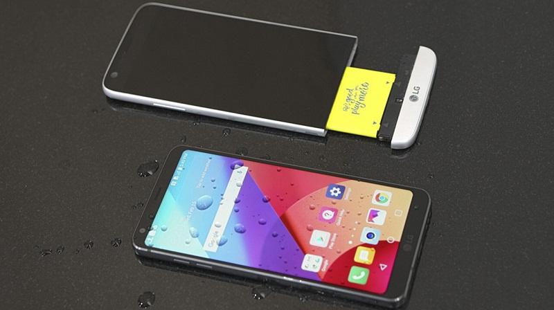 So sánh LG G6 với LG G5