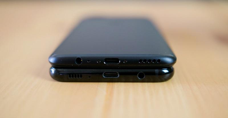 So sánh OnePlus 5 và Samsung Galaxy S8: Kết nối
