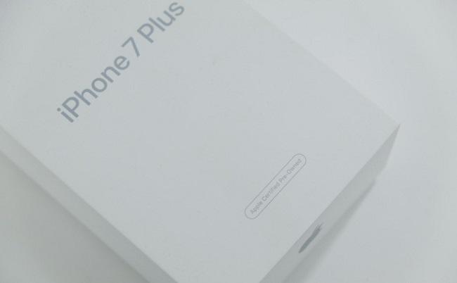 iPhone 7 Plus CPO là gì: Hộp đựng