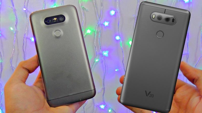 LG G5 và LG V20