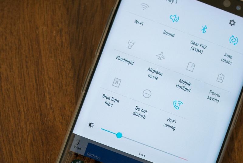 Cách test Samsung Galaxy S8 cũ: Các kết nối
