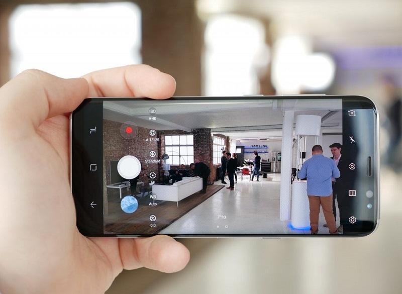 Cách test Samsung Galaxy S8 cũ: Chụp, quay phim thử