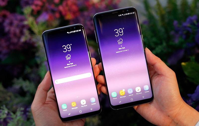 So sánh Samsung Galaxy S8 và Galax S8 Plus: Màn hình
