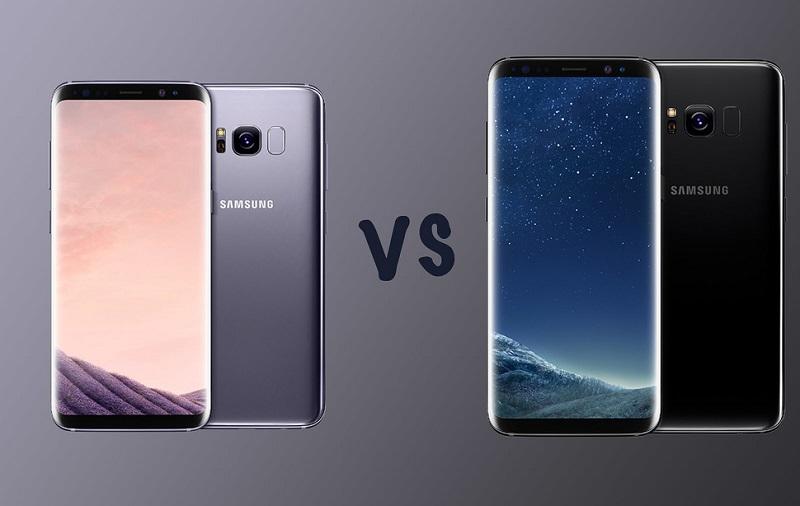 So sánh Samsung Galaxy S8 và Galax S8 Plus