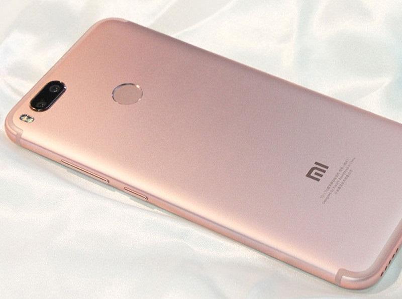 Mặt lưng của Xiaomi Mi 5X