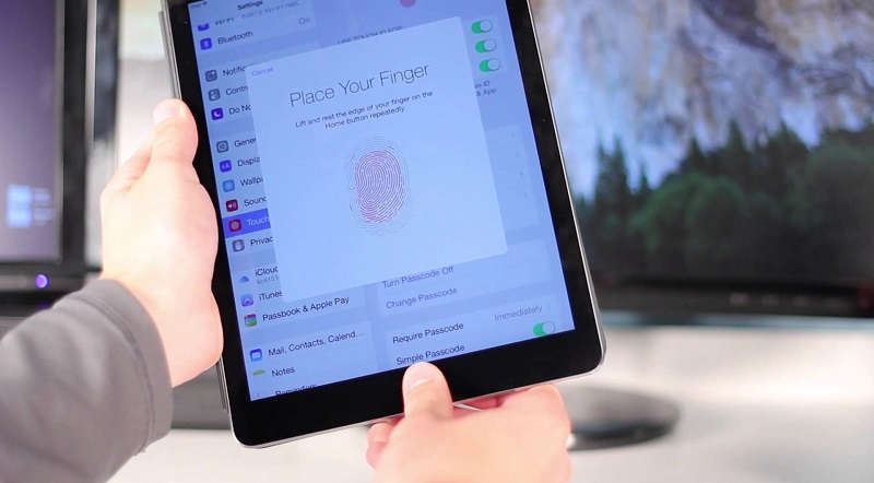 Cách test iPad Air 2 cũ: Touch ID