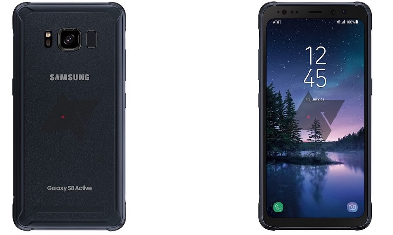 Thiết kế Samsung Galaxy S8 Active