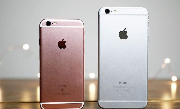 iPhone 6S Lock với iPhone 6 Plus: Thiết kế