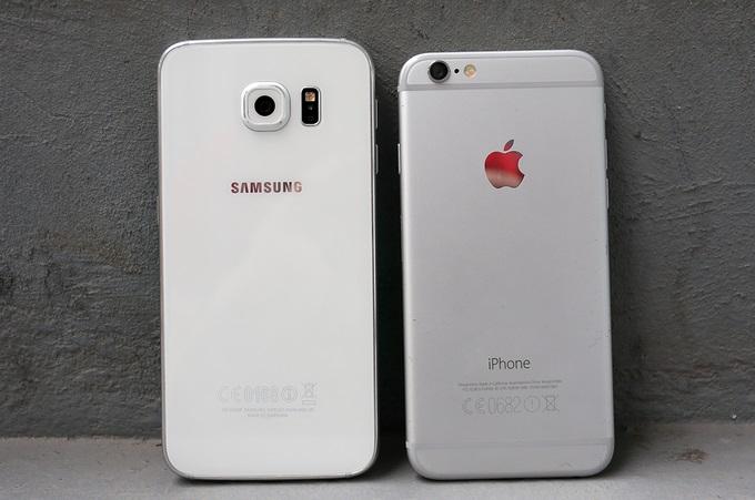 Samsung Galaxy S6 với iPhone 6 Lock: Thiết kế