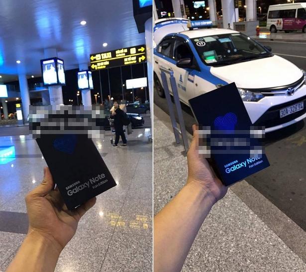 Samsung Galaxy Note FE đầu tiên về Việt Nam